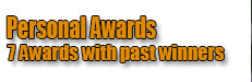 Personal Awards Winners