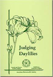 Judging Daylilies Cover